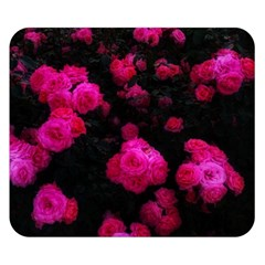 Bunches Of Roses Double Sided Flano Blanket (small)