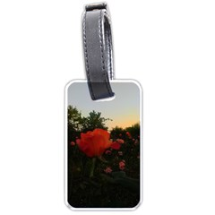 Rose Landscape Luggage Tags (two Sides)