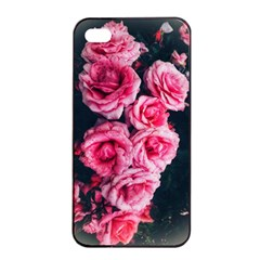 Pink Roses Ii Iphone 4/4s Seamless Case (black)
