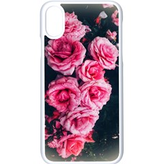 Pink Roses Ii Iphone Xs Seamless Case (white)