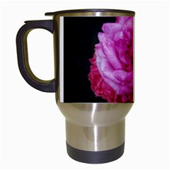 Bunches Of Roses (close Up) Travel Mugs (white)