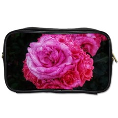 Bunches Of Roses (close Up) Toiletries Bag (one Side)