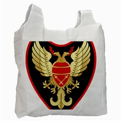 Iranian Army Karate Badge Recycle Bag (two Side) by abbeyz71