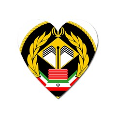 Iranian Army Badge Of Doctorate s Conscript Heart Magnet by abbeyz71