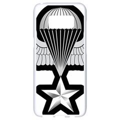 Iranian Army Parachutist 3rd Class Badge Samsung Galaxy S8 White Seamless Case