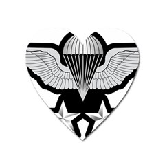 Iranian Army Parachutist 2nd Class Badge Heart Magnet by abbeyz71
