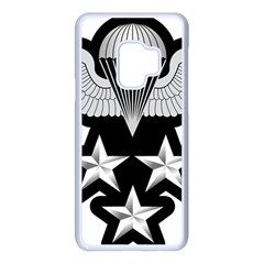 Iranian Army Parachutist 1st Class Badge Samsung Galaxy S9 Seamless Case(white)