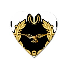 Iranian Army Aviation Pilot Wing Heart Magnet by abbeyz71