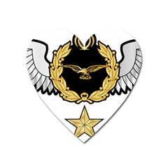 Iranian Army Aviation Pilot Third Class Wing Heart Magnet by abbeyz71