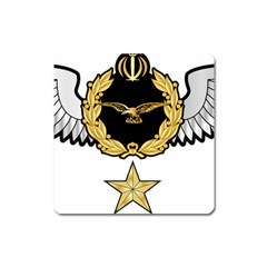 Iranian Army Aviation Pilot Third Class Wing Square Magnet by abbeyz71