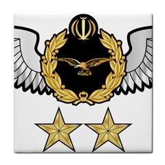 Iranian Army Aviation Pilot Second Class Wing Tile Coasters by abbeyz71