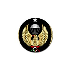 Iranian Army Freefall Parachutist 3rd Class Badge Golf Ball Marker (10 Pack) by abbeyz71
