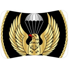 Iranian Army Freefall Parachutist 3rd Class Badge Velour Seat Head Rest Cushion by abbeyz71