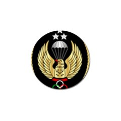 Iranian Army Freefall Parachutist 1st Class Badge Golf Ball Marker (10 Pack) by abbeyz71