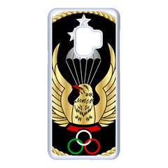 Iranian Army Freefall Parachutist 1st Class Badge Samsung Galaxy S9 Seamless Case(white)