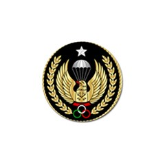 Iranian Army Freefall Parachutist Master 3rd Class Badge Golf Ball Marker (10 Pack) by abbeyz71