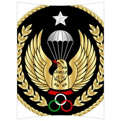 Iranian Army Freefall Parachutist Master 3rd Class Badge Back Support Cushion by abbeyz71