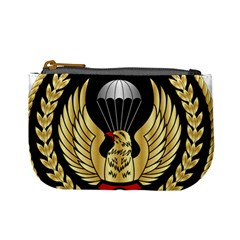 Iranian Army Parachutist Freefall Master 2nd Class Badge Mini Coin Purse by abbeyz71