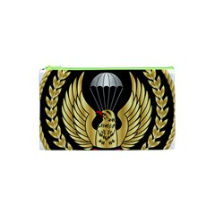Iranian Army Parachutist Freefall Master 2nd Class Badge Cosmetic Bag (xs) by abbeyz71