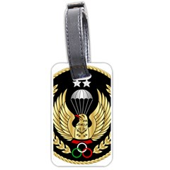 Iranian Army Freefall Parachutist Master 1st Class Badge Luggage Tags (one Side)  by abbeyz71