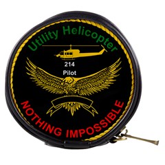 Iranian Army Aviation Bell 214 Helicopter Pilot Chest Badge Mini Makeup Bag by abbeyz71