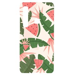 Tropical Watermelon Leaves Pink And Green Jungle Leaves Retro Hawaiian Style Samsung Case Others by genx