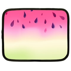 Watermelon Pastel Gradient Pink Watermelon Pastel Gradient Netbook Case (xxl) by genx