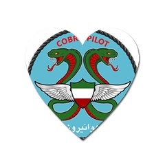 Iranian Army Aviation Cobra Helicopter Pilot Chest Badge Heart Magnet by abbeyz71