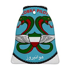 Iranian Army Aviation Cobra Helicopter Pilot Chest Badge Ornament (bell)