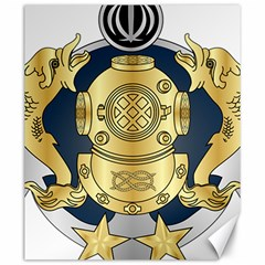 Iranian Navy Special Diver Second Class Badge Canvas 20  X 24