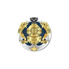 Iranian Navy Special Diver Third Class Badge Golf Ball Marker (10 Pack) by abbeyz71