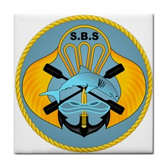 Iranian Navy Special Boat Service Badge Tile Coasters by abbeyz71