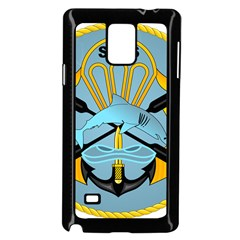 Iranian Navy Special Boat Service Badge Samsung Galaxy Note 4 Case (black) by abbeyz71