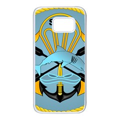 Iranian Navy Special Boat Service Badge Samsung Galaxy S7 White Seamless Case by abbeyz71