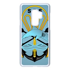 Iranian Navy Special Boat Service Badge Samsung Galaxy S9 Plus Seamless Case(white) by abbeyz71