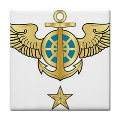 Iranian Navy Aviation Pilot Badge Third Class Tile Coasters by abbeyz71