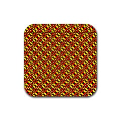 Rby 5 Rubber Square Coaster (4 Pack)  by ArtworkByPatrick