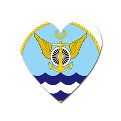 Official Insignia Of Iranian Navy Aviation Heart Magnet by abbeyz71