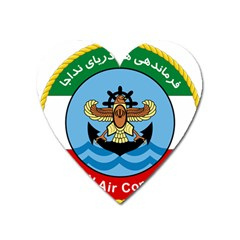 Official Insignia Of Iranian Navy Air Command Heart Magnet by abbeyz71