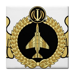 Iranian Air Force F 4 Fighter Pilot Wing Tile Coasters by abbeyz71