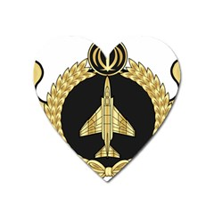 Iranian Air Force F-4 Fighter Pilot Wing Heart Magnet by abbeyz71