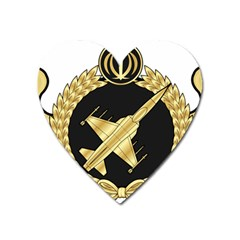 Iranian Air Force F 5 Fighter Pilot Wing Heart Magnet by abbeyz71