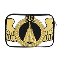 Iranian Air Force F-14 Fighter Pilot Wing Apple Macbook Pro 17  Zipper Case by abbeyz71