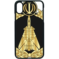 Iranian Air Force F 14 Fighter Pilot Wing Iphone X Seamless Case (black) by abbeyz71