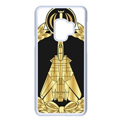 Iranian Air Force F 14 Fighter Pilot Wing Samsung Galaxy S9 Seamless Case(white) by abbeyz71