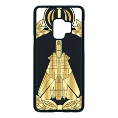 Iranian Air Force F 14 Fighter Pilot Wing Samsung Galaxy S9 Seamless Case(black)