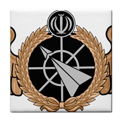 Iran Air Defense Force Badge   Bronze Tile Coasters by abbeyz71