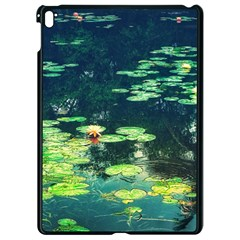 Lily Pond Ii Apple Ipad Pro 9 7   Black Seamless Case by okhismakingart