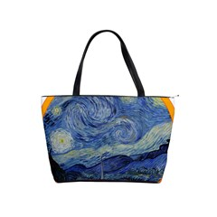 The Starry Night Starry Night Over The Rhne Pain Classic Shoulder Handbag