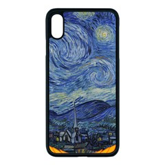 The Starry Night Starry Night Over The Rhne Pain Iphone Xs Max Seamless Case (black)